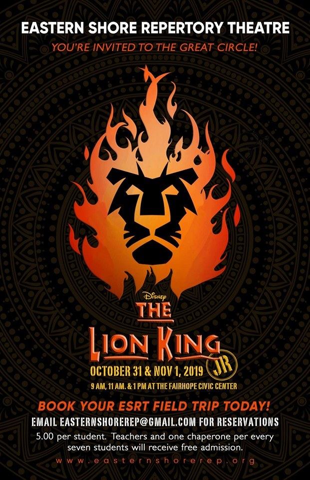 Book a Field Trip Lion King