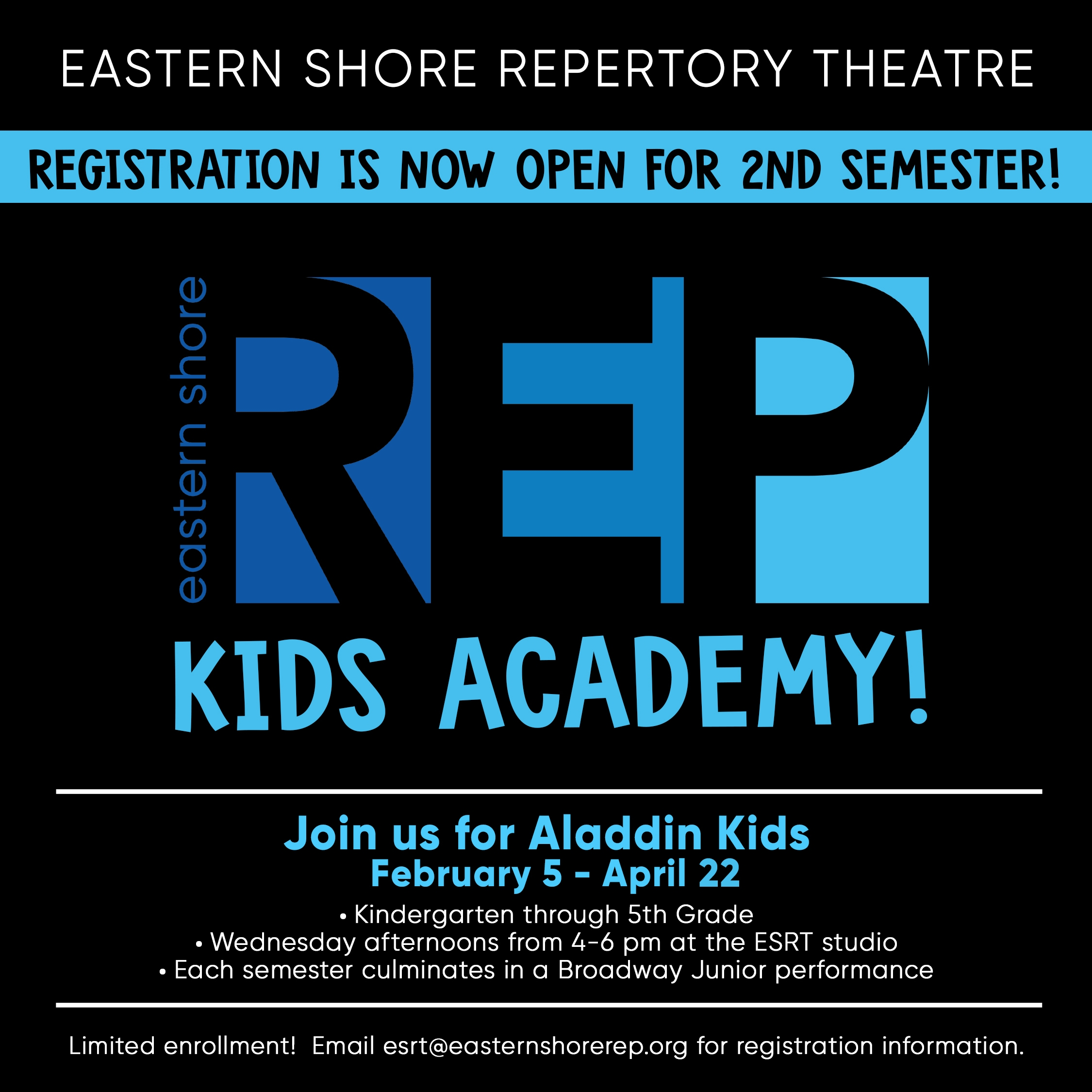 ESRT Kids Academy 2nd Sem post