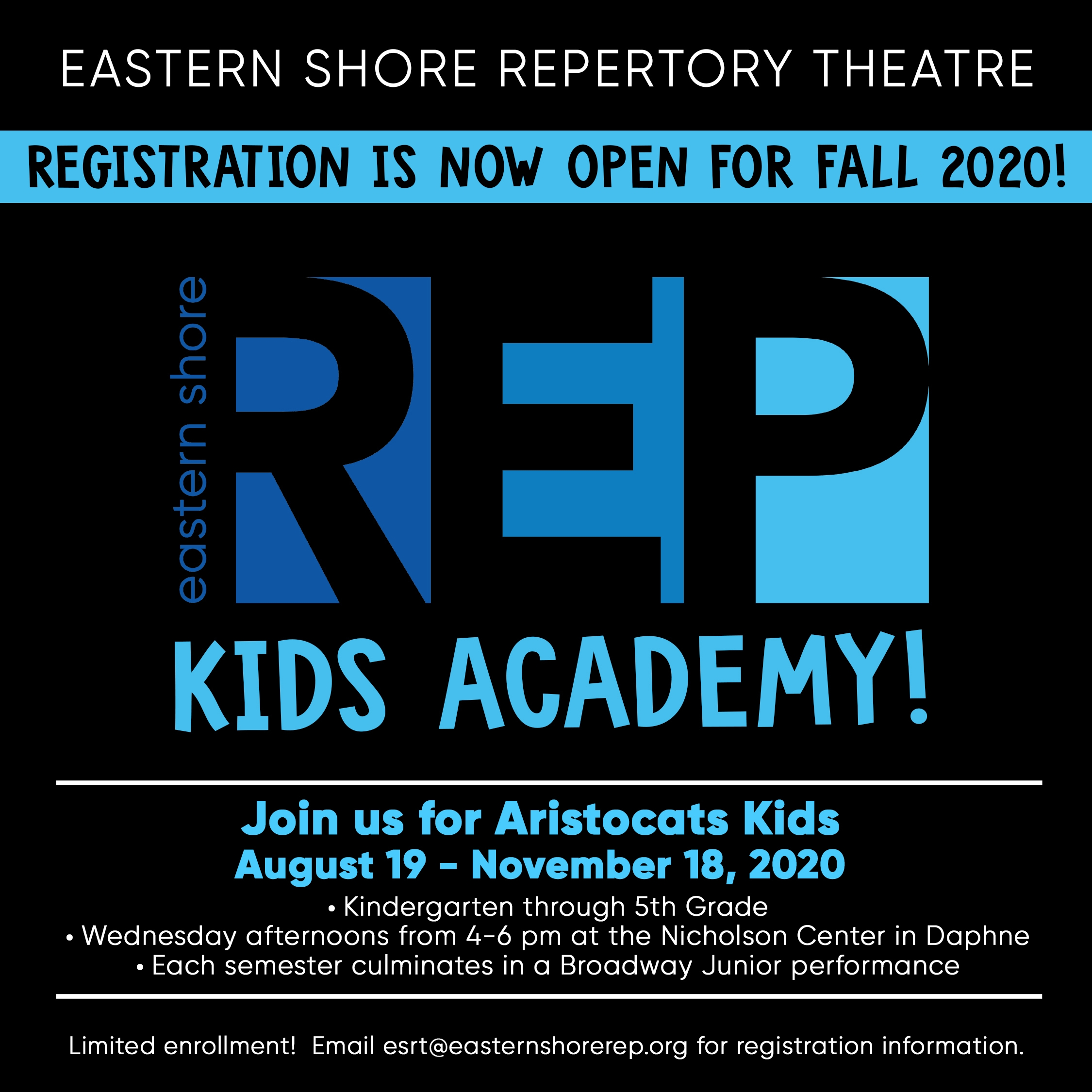 ESRT Kids Academy Fall 2020 post copy